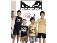 Best & Less Bad Boy Top Sizes 3-16 And Drink Bottle Set