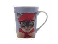 Briscoes NZ Christopher Vine The Mob Mademoiselle Mug 420ml