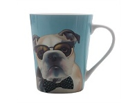 Briscoes NZ Christopher Vine The Mob George Mug 420ml
