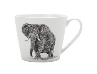 Briscoes NZ Maxwell & Williams Marini Ferlazzo African Elephant Mug 450ml