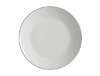 Briscoes NZ Maxwell & Williams White Basics Edge Coupe Dinner Plate 27.5