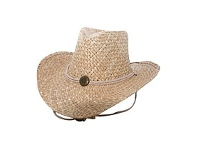 Briscoes NZ Barley Rodeo Straw Hat One Size Fits Most