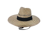 Briscoes NZ Barley Planter Rush Straw Hat One Size Fits Most