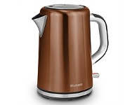 Briscoes NZ Brabantia Cordless Kettle Copper 1.7L BBEK1001ACP