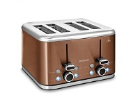 Briscoes NZ Brabantia Toaster Copper 4 Slice BBEK1031NCP