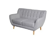 Briscoes NZ Colorado Harvest Sofa Chair Grey 2 Seater
