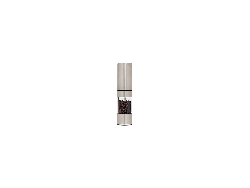 Wiltshire Adjust Stainless Steel Top/Base Pepper Grinder 18cm