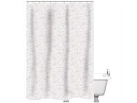 Briscoes NZ Just Home Shower Curtain Oriental Blossom Linen 180x180cm