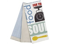 Briscoes NZ Just Home Soult Food Tea Towels Taupe