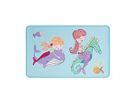 Briscoes NZ Poppiseed Mermaid Party Mat 50x80cm