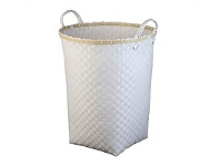 Briscoes NZ Lida Toulon Laundry Hamper White