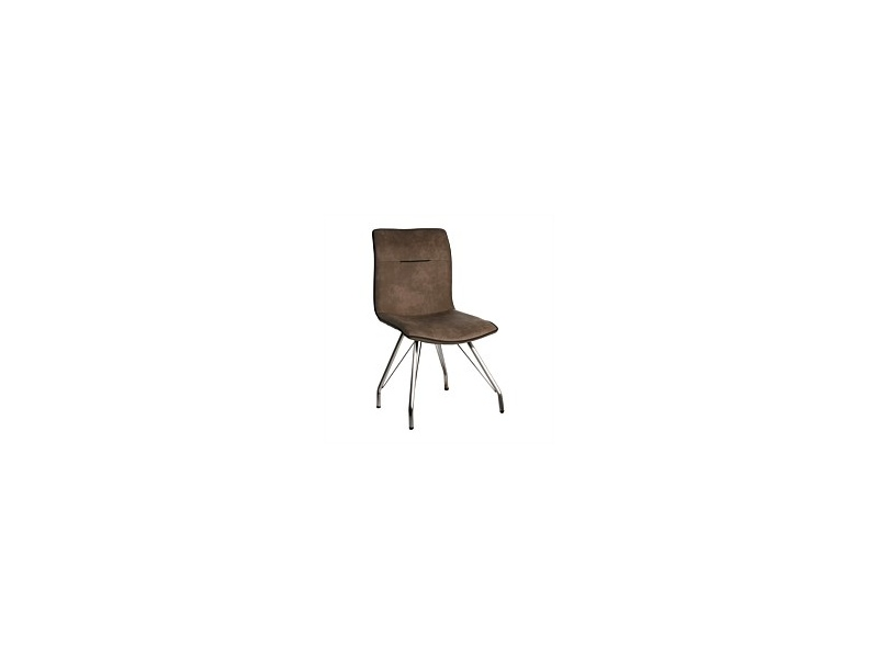 Marron Dining Chair Brown