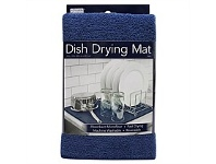 Briscoes NZ S&T Kitchen Basics Dish Drying Mat Navy
