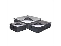 Briscoes NZ Ricardo Travel Essential Packing Cube Graphite 3 Piece