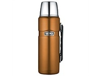 Briscoes NZ Thermos Stainless Steel King Flask Copper 1.2L