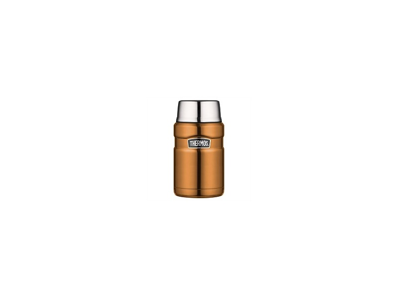 Thermos Stainless Steel Food Flask Copper 710ml
