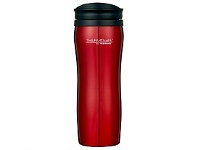 Briscoes NZ Thermos Stainless Steel/Plastic Travel Mug Red 400ml