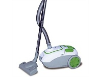Briscoes NZ Zip Power Force Bag Vacuum Cleaner White/Green 2000W ZIP467