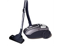 Briscoes NZ Zip Power Force Bag Vacuum Cleaner Grey/Silver 2000W ZIP469