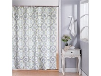 Briscoes NZ Cloud 9 Shower Curtain Boho Multi 120x180cm