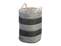 Briscoes NZ Gironde Laundry Hamper Grey Medium