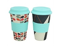Briscoes NZ Bamboo Sipper Cup 450ml Asst