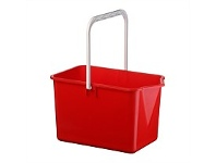 Briscoes NZ Plastique Mop Bucket Red 10 Litre