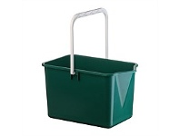 Briscoes NZ Plastique Mop Bucket Dark Green 10 Litre