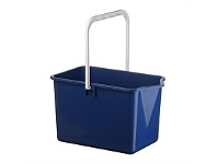 Briscoes NZ Plastique Mop Bucket Dark Blue 10 Litre