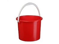 Briscoes NZ Plastique Bucket Dark Red 2.5 Litre