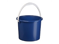 Briscoes NZ Plastique Bucket Dark Blue 2.5 Litre