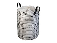 Briscoes NZ Lida Inca Laundry Hamper White