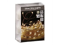 Briscoes NZ Outdoor Christmas Lights 160 Bulb Battery Warm White