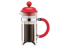 Briscoes NZ Bodum Caffettiera Coffee Plunger Red 0.35L/3 Cup