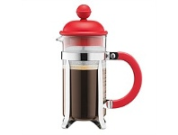 Briscoes NZ Bodum Caffettiera Coffee Plunger Red 1L/8 Cup