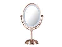 Briscoes NZ Lighted Mirror Portable LED Rose Gold