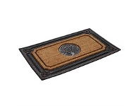 Briscoes NZ KleenTRED Hilton Rubber Coir Door Mat