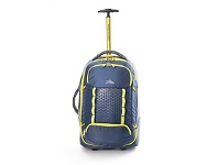 Briscoes NZ High Sierra Composite Wheeled Duffle Grey/Yellow 56cm