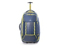 Briscoes NZ High Sierra Composite Wheeled Duffle Grey/Yellow 76cm