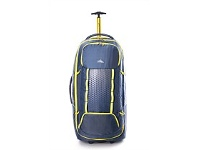 Briscoes NZ High Sierra Composite Wheeled Duffle Grey/Yellow 84cm