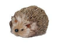 Briscoes NZ Furry Hedgehog Christmas Decor Small