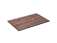 Briscoes NZ KleenTRED Woodville Printed Rubber Door Mat