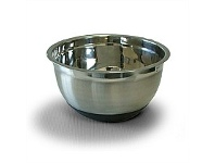 Briscoes NZ Prestige Bowl 2.8L - Stainless Steel with Rubber Base