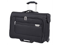 Briscoes NZ Ricardo 2 Wheel Rolling Garment Bag Black 53cm