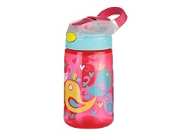 Briscoes NZ Contigo Kids GizmoFlip Autospout Drink Bottle Birds 420ml