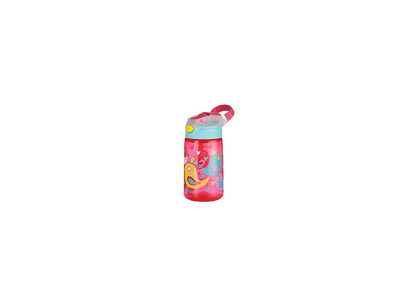 Contigo Kids GizmoFlip Autospout Drink Bottle Birds 420ml