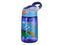 Briscoes NZ Contigo Kids GizmoFlip Autospout Drink Bottle Dinosaur 420ml