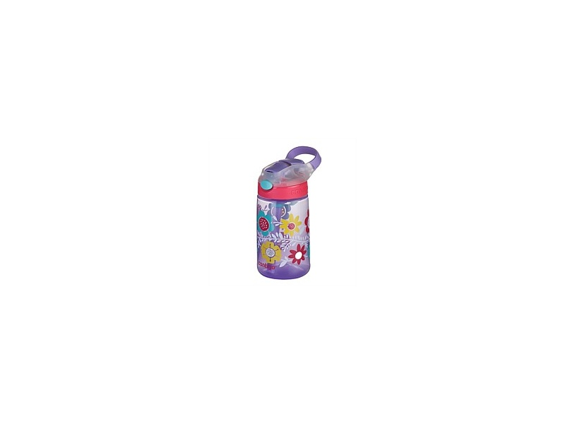 Contigo Kids GizmoFlip Autospout Drink Bottle Flowers 420ml