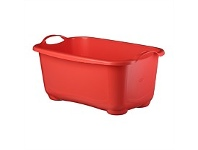 Briscoes NZ Tontarelli Laundry Basin C/Line Red