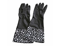 Briscoes NZ Koopman Houshold Dish Gloves Black&White